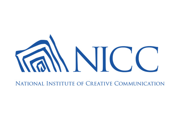 National Institute of Creative Communication Logo